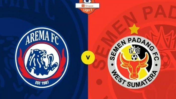 LINK Live Streaming Indosiar Arema FC vs Semen Padang BERLANGSUNG, Peluang Arema Geser PSS Sleman