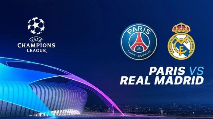 LINK Live Streaming Liga Champion PSG vs Real Madrid, Laga Tanpa Neymar, Mpappe, Modric, dan Ramos