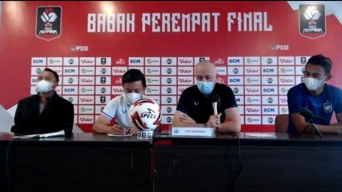 Link Live Streaming Perempat Final Piala Menpora 2021 PSIS Semarang vs PSM Makassar, Live Indosiar