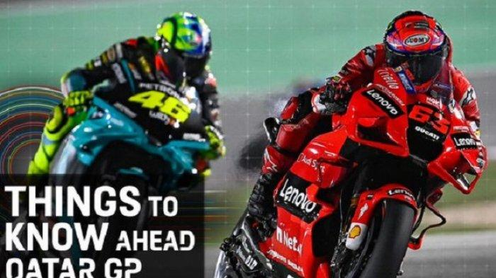 Link Live Streaming Trans7 Fox Sport MOTOGP Qatar 2021 Siaran Langsung Malam Ini - Starting RACE DAY
