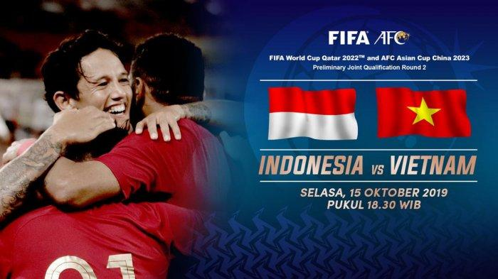 LINK Live Streaming TVRI / Mola Tv Timnas Senior Indonesia vs Vietnam - Kualifikasi Piala Dunia 2022