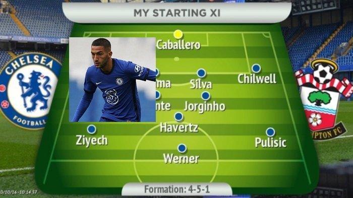 LINK Siaran Live Streaming Mola Tv/ NET TV Premier League - LINE UP Chelsea vs Southampton
