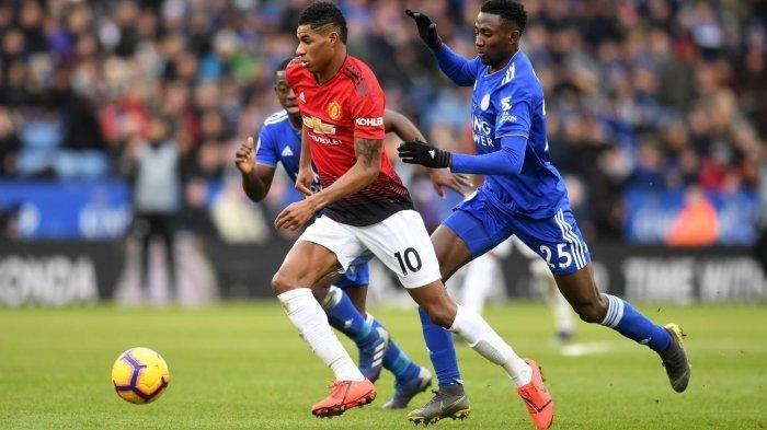 Link Siaran Langsung Live Streaming Leicester City Vs Manchester United Mu Di Tv Premier League Tribun Jogja