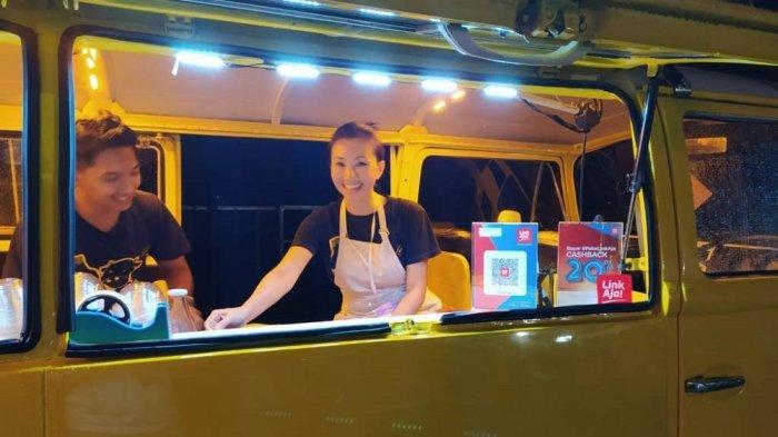 LinkAja Berikan Kemudahan di Borobudur Nite