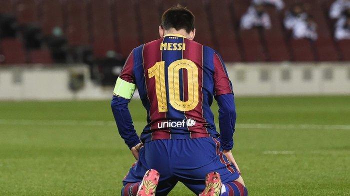 Isyarat Lionel Messi Tak Akan Pergi dari Barcelona,