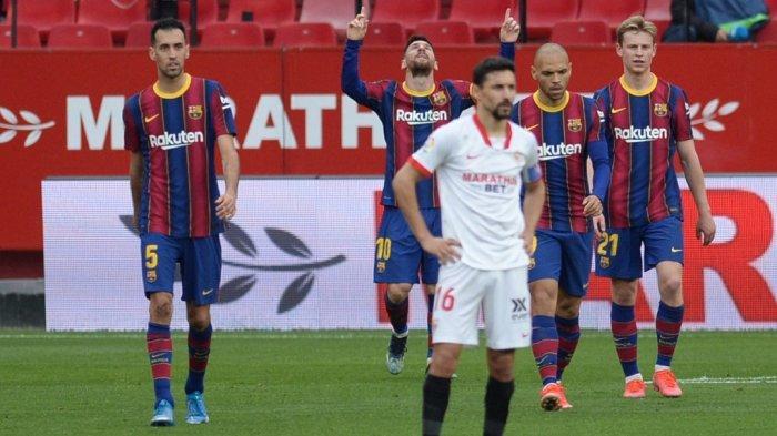 Update Skuad Barcelona vs Sevilla dan Channel TV Siaran Langsung Semifinal Copa del Rey Malam Ini
