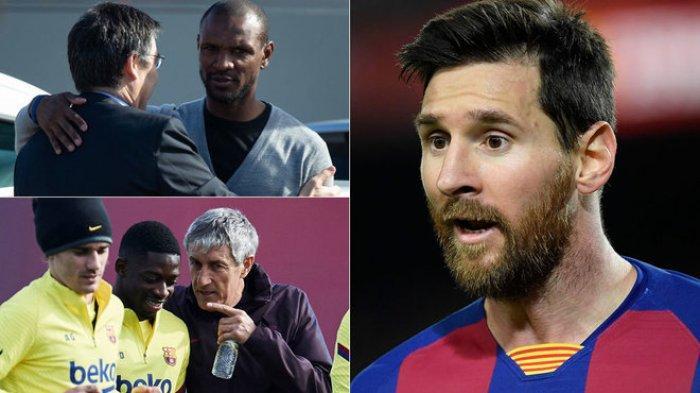 Lionel Messi Silang Pendapat dengan Eric Abidal di Medsos, Krisis Ruang Ganti Barca