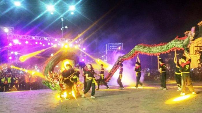 Liong Hingga Atraksi Reog Meriahkan Karnaval Pembukaan PBTY