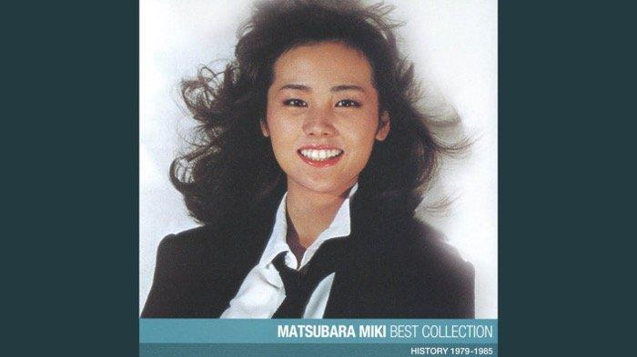 Miki Matsubara, penyanyi lagu Stay With Me yang viral di TikTok.