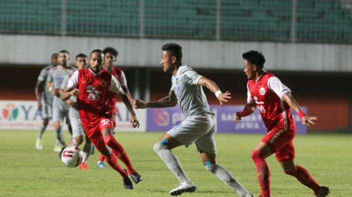 Hasil Final Leg 1 Piala Menpora 2021 : Persija Jakarta Bungkam Persib Bandung 2-0