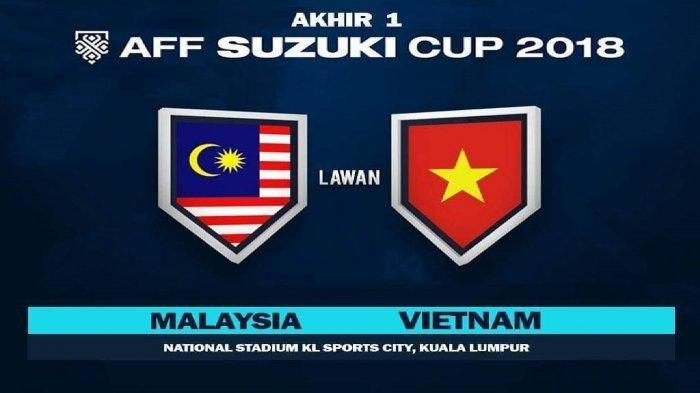 Live Streaming Babak Final Leg 1 Piala AFF 2018  Malaysia vs Vietnam via Live Streaming Fox Sports