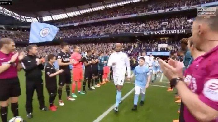 ILUSTRASI - Swansea vs Manchester City