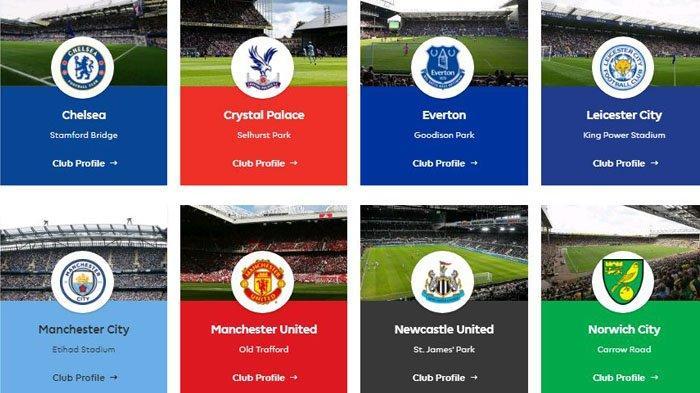 JADWAL LIGA INGGRIS Sabtu-Kamis, Ada MU, Arsenal, Liverpool, Chelsea Tayang TVRI dan Mola TV
