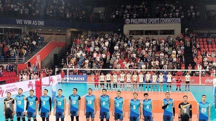 Sedang Berlangsung Live Streaming MNC TV Indonesia vs Filipina Final Voli SEA Games 2019, Skor 1-0