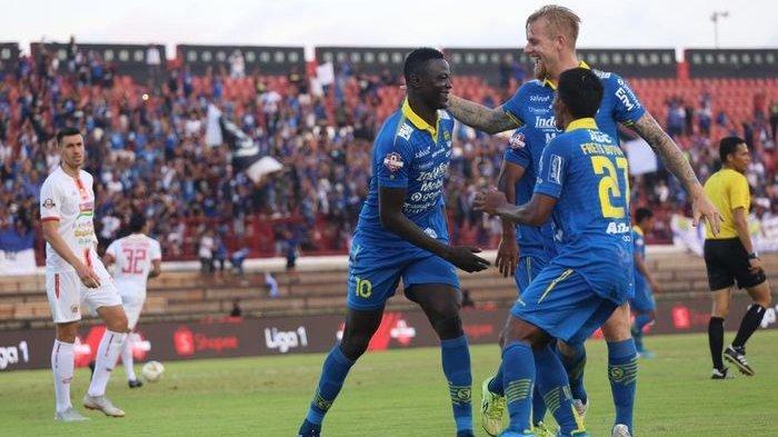Live Streaming Indosiar Persib Bandung vs PSIS Semarang BABAK II, Update Skor Sementara 1-0