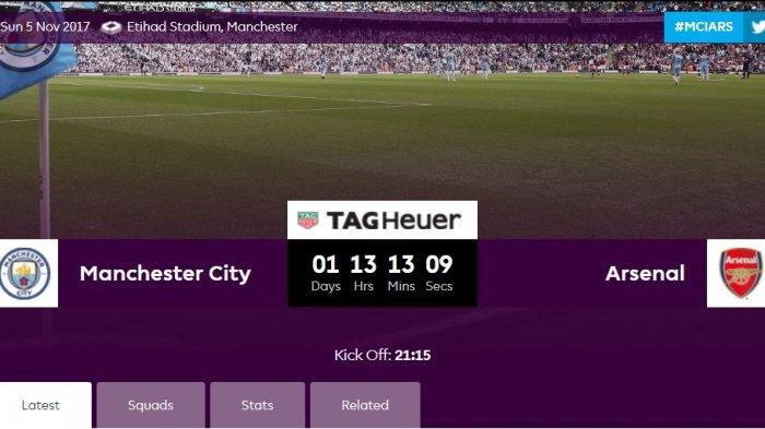 Manchester City vs Arsenal: Nonton Pertandingan Live Streaming Man City vs Arsenal di MNCTV