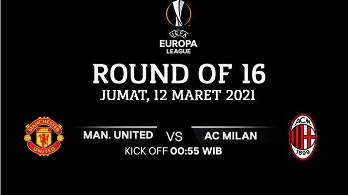 MU vs AC Milan, Liga Eropa