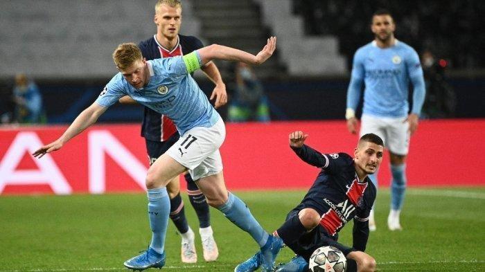 Live Streaming SCTV Liga Champions Dini Hari Ini MAN CITY vs PSG