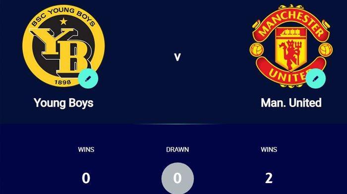 Jam Siaran TV Liga Champions Young Boys vs MU, Daftar Channel TV Partner UEFA