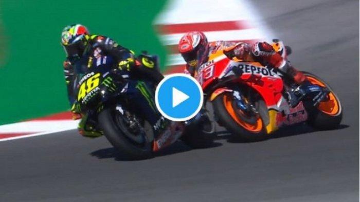 Live Streaming Trans7 Jadwal MotoGP Italia Malam Ini, Marquez Salahkan Rossi