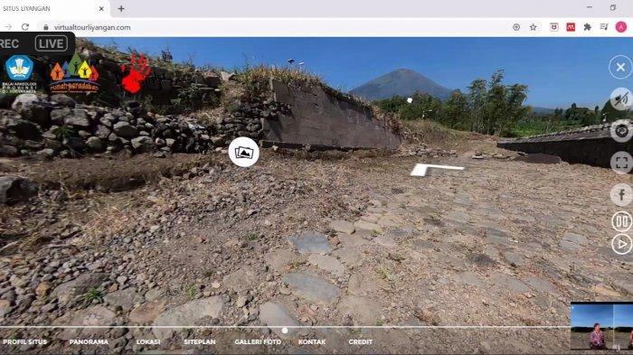 Balar Yogya Luncurkan Jelajah Virtual Situs Kuno Liyangan Temanggung