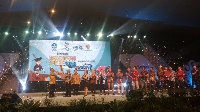 Jateng Sabet Juara Umum LKS SMK Tingkat Nasional Ke-27