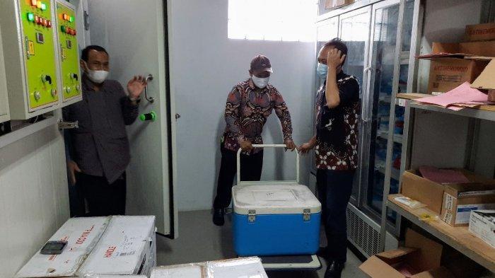 Logistik Vaksin COVID-19 Tiba di Gunungkidul, 30 Ribu Calon Penerima Sudah Terdata