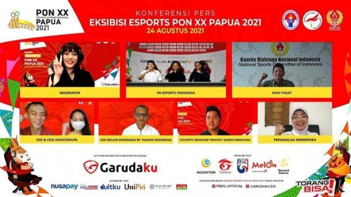 Gim Lokapala Dipertandingkan di Eksibisi eSports PON XX Papua 2021