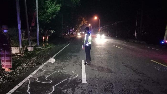 Kecelakaan Tunggal, Seorang Pengendara Sepeda Motor Tewas di Jalan Wates-Purworejo Kulon Progo