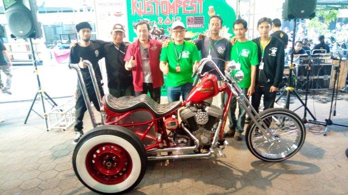Inilah Motor yang Menjadi Lucky Draw dalam Kustomfest Tahun Ini