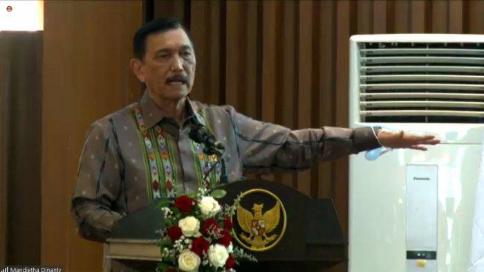 Menteri Koordinator Bidang Kemaritiman dan Investasi, Luhut B. Pandjaitan