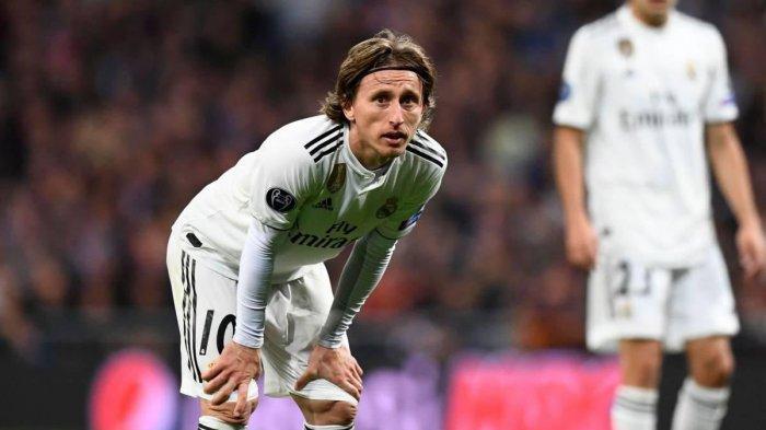 Real Madrid Kehilangan Luka Modric Karena Cedera Otot
