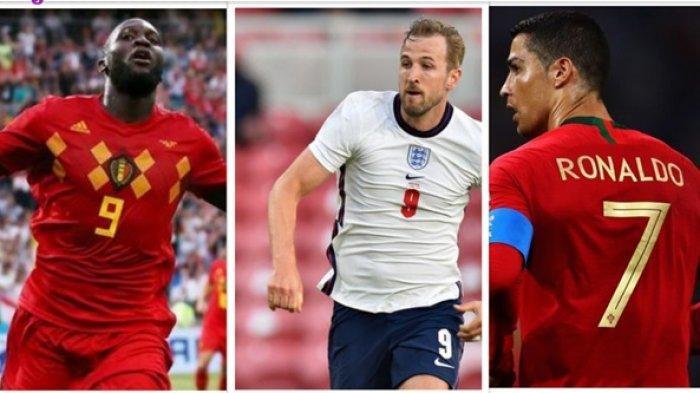 Deretan Pemain Calon Kuat Top Skorer di EURO 2020: Ada Cristiano Ronaldo, Harry Kane hingga Lukaku