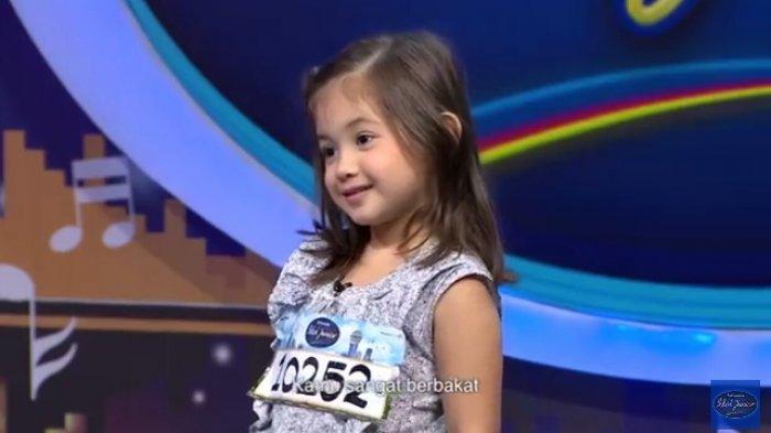 Reaksi Menggemaskan Luna Allegra saat Audisi Indonesian Idol Junior Jadi Video Populer di Youtube