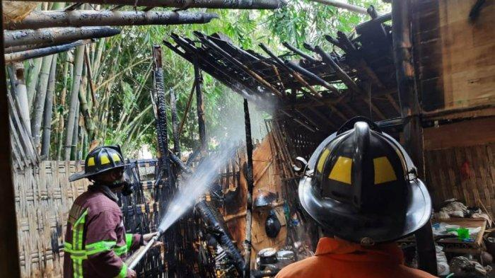 Lupa Mematikan Tungku, Satu Rumah di Magelang Ludes Terbakar