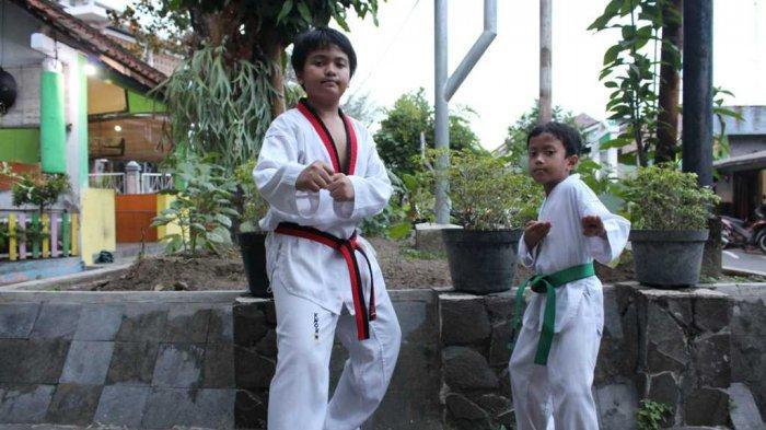 Farras dan Farhan Pilih Berlatih Bela Diri Karena Mencintai Taekwondo