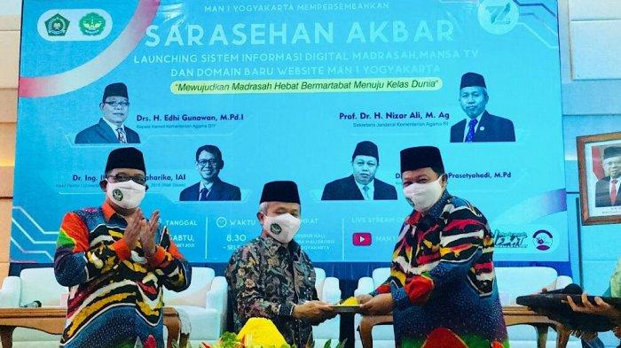 Madrasah Berkelas Dunia Semakin Nyata dengan Digitalisasi Madrasah