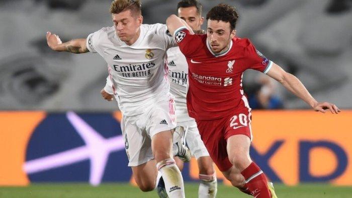 Prediksi Liverpool vs Real Madrid & Channel TV Siaran Langsung Liga Champions Malam Ini di SCTV