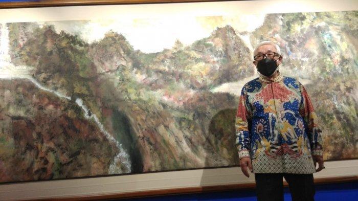 Maestro Seni Lukis Sidik Martowidjojo Suguhkan 18 Karya dalam Pameran Tunggal