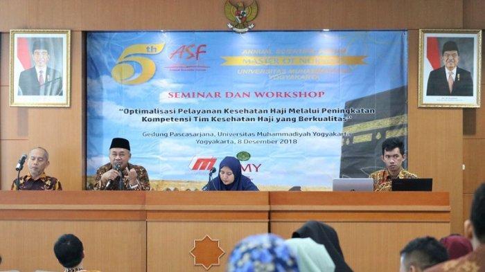 Magister Keperawatan UMY Bahas Optimalisasi Pelayanan Kesehatan Haji