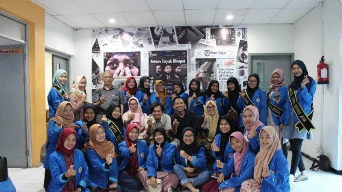 Mahasiswa PBSI Universitas PGRI Palembang Belajar Jurnalistik ke Tribun Jogja