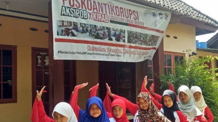 Mahasiswa UNY Berikan Pendampingan Gerakan Antikorupsi Berbasis Keluarga di Kelurahan Prenggan