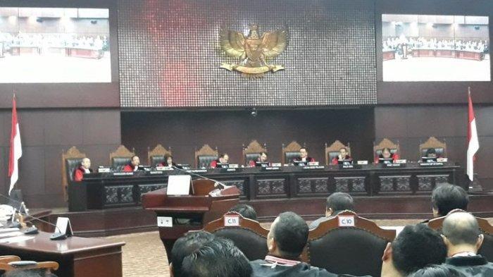 Mahkamah Konstitusi Tolak 58 Gugatan Hasil Pemilu Legislatif 2019