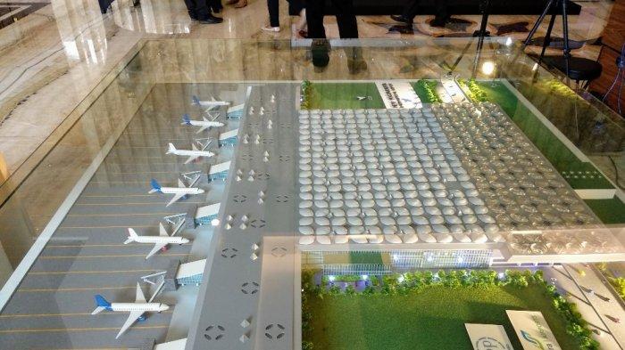 Maket Bandara Baru Internasional Yogyakarta atau NYIA