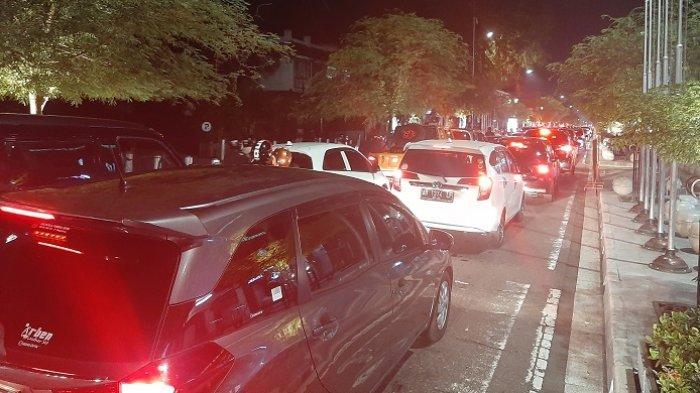 Malam Idulfitri, Jalan Malioboro hingga Titik Nol Kilometer Yogyakarta Padat Merayap
