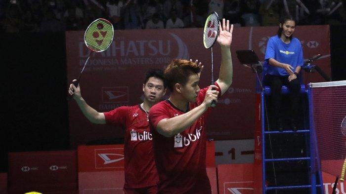 Malaysia Masters 2019 - Marcus Fernaldi Gideon/Kevin Sanjaya Sukamuljo Melaju ke Final
