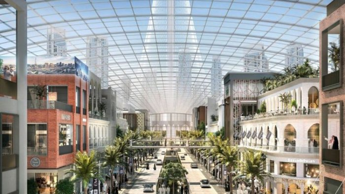 Dubai Segera Bangun Mal Terbesar di Dunia