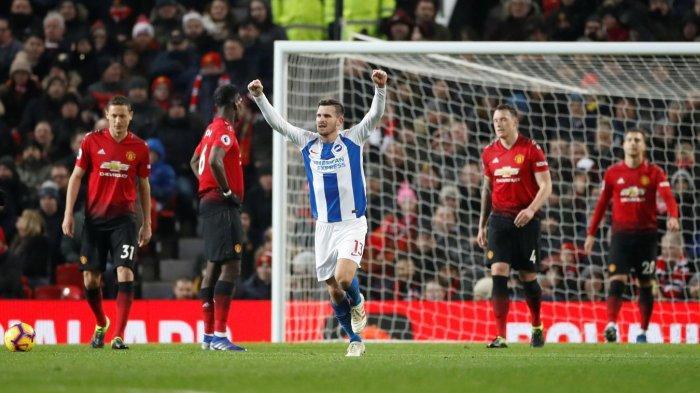 Mampukah Brighton Gagalkan MU Masuk Lima Besar Klasemen Liga Inggris?