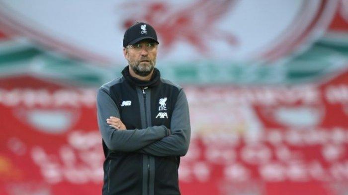 Manajer Liverpool Jurgen Klopp 2021/2022