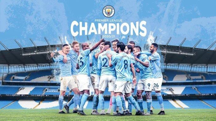 Manchester City Dinobatkan Sebagai Juara Liga Inggris